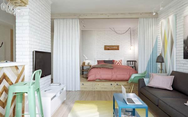 3-Small-open-plan-apartment-design