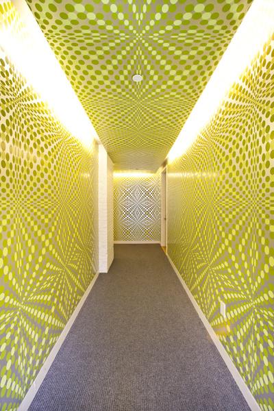 pleasure-dome-yellow-graphic-wallpaper